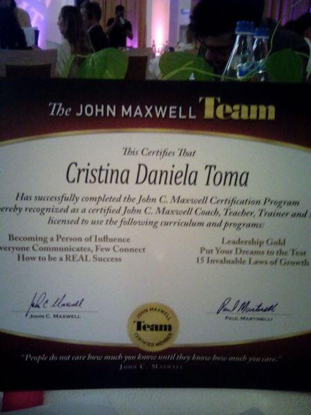 Certificatul JMT