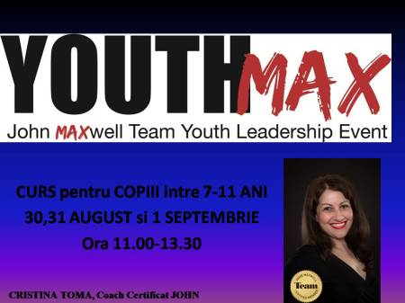 Youth MAX poza curs 30 aug