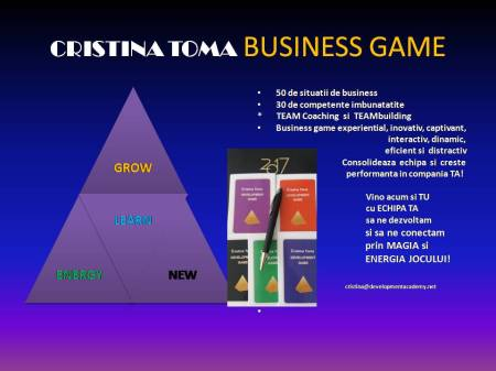 BUSINESS GAME PREZENTARE