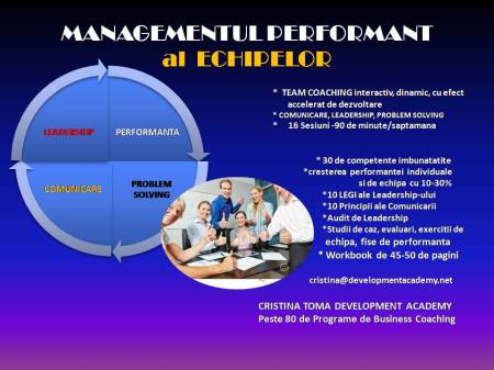 MANAGEMENT PERFORMANT