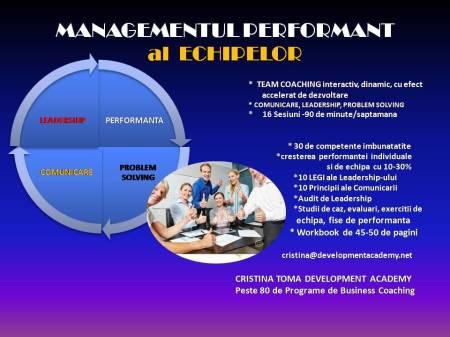 MANAGEMENT PERFORMANT